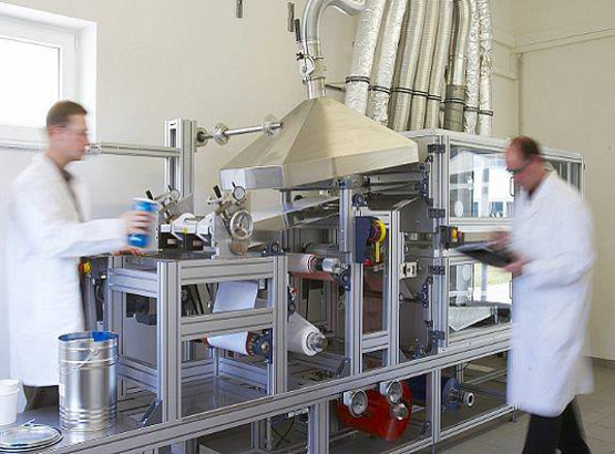 Laboratory coating systems